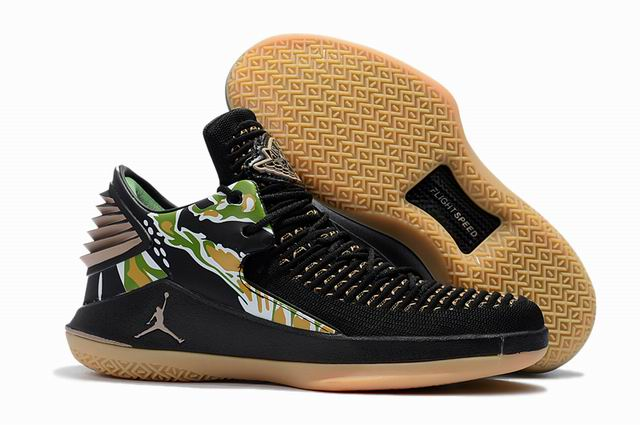 men jordan XXXII low top shoes-015